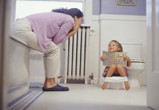 Toilet training children with special needs